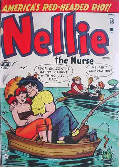 Nellie the Nurse 35 Cover Image