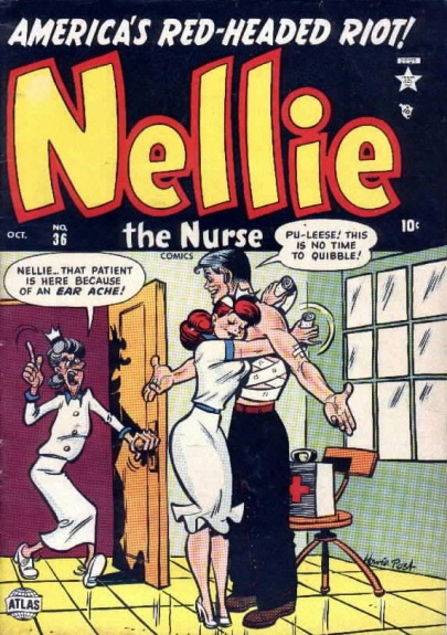 Nellie the Nurse 36 Cover Image