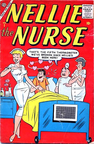 Nellie the Nurse  1 Cover Image