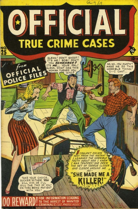 Official True Crime Cases 25 Cover Image