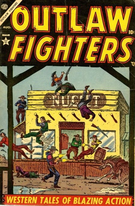 Outlaw Fighters 1 Cover Image