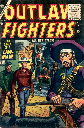 Outlaw Fighters 5 Cover Image
