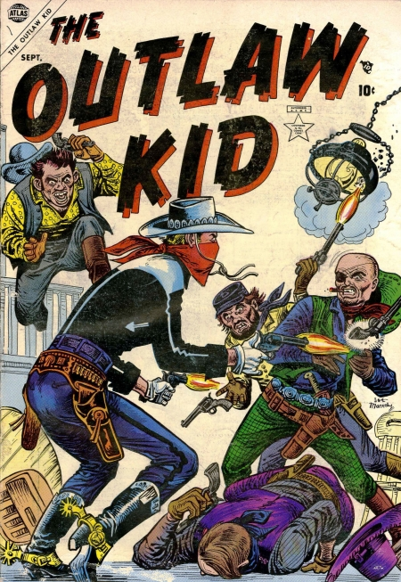 The Outlaw Kid 1 Cover Image