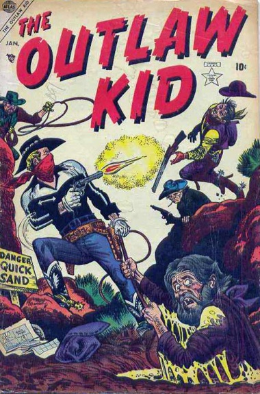 The Outlaw Kid 3 Cover Image