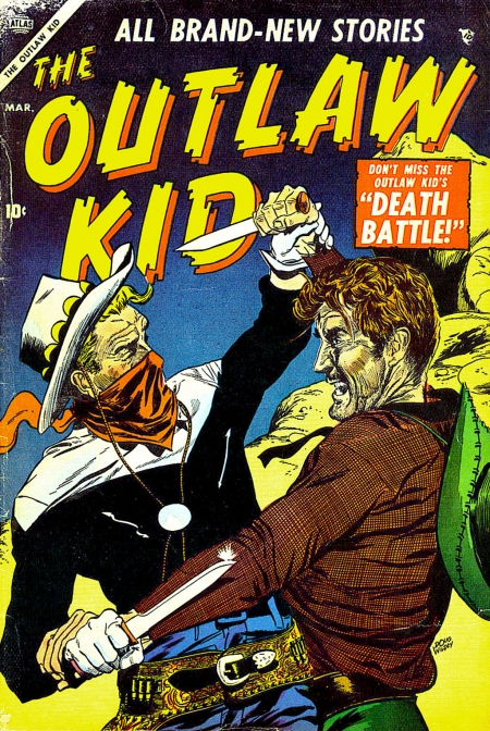 The Outlaw Kid 4 Cover Image