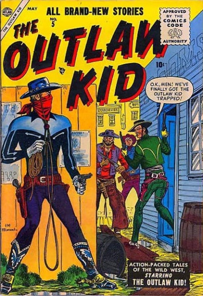The Outlaw Kid 5 Cover Image