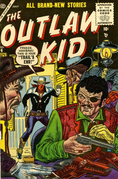 The Outlaw Kid 6 Cover Image