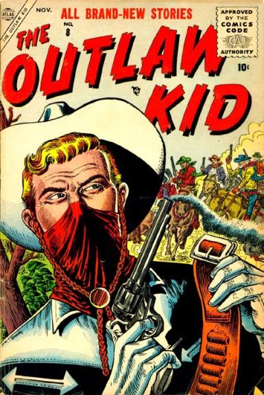 The Outlaw Kid 8 Cover Image