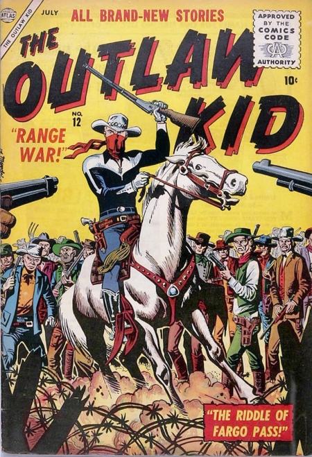 The Outlaw Kid 12 Cover Image
