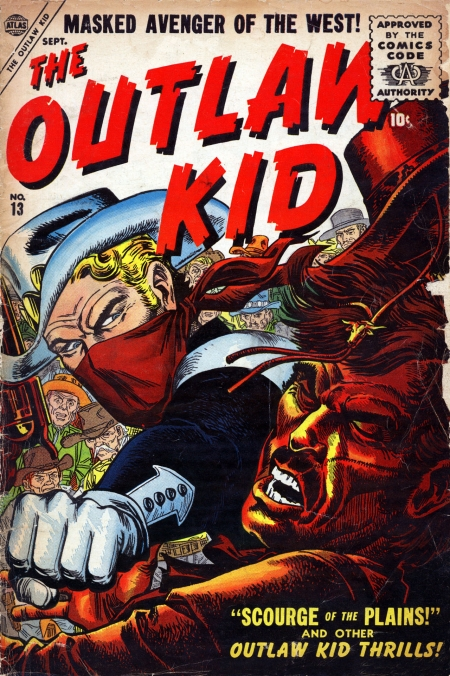 The Outlaw Kid 13 Cover Image