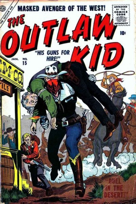 The Outlaw Kid 15 Cover Image