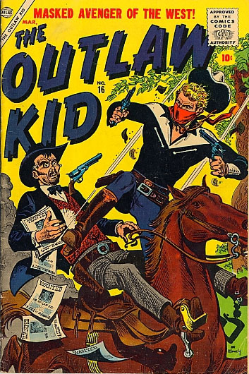 The Outlaw Kid 16 Cover Image