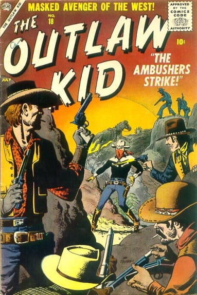 The Outlaw Kid 18 Cover Image