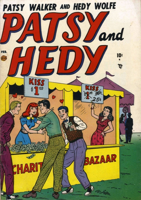 Patsy and Hedy 1 Cover Image