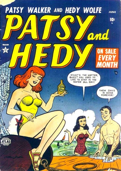 Patsy and Hedy 4 Cover Image
