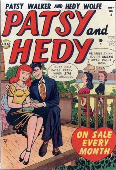Patsy and Hedy 5 Cover Image