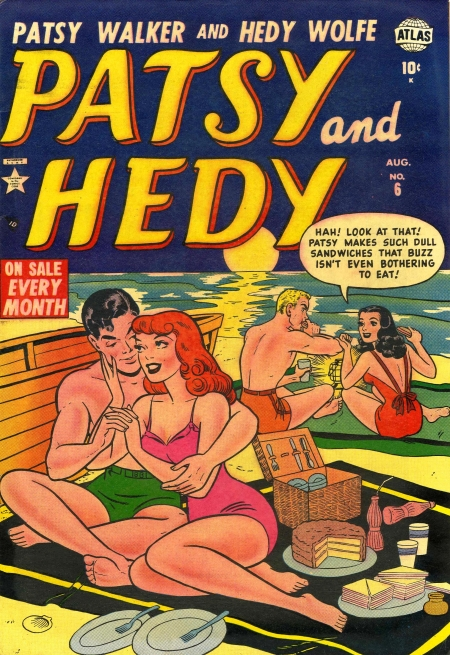 Patsy and Hedy 6 Cover Image