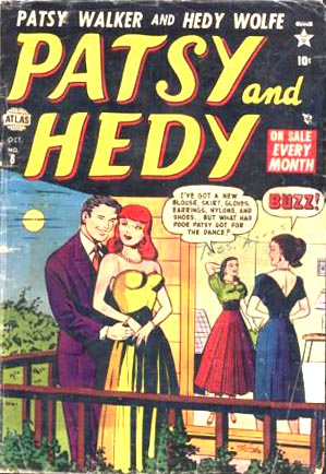 Patsy and Hedy 8 Cover Image