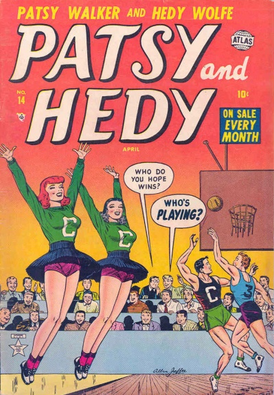 Patsy and Hedy 14 Cover Image