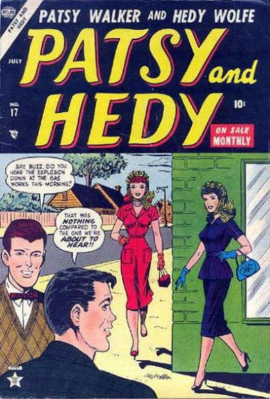 Patsy and Hedy 17 Cover Image