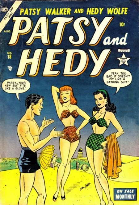 Patsy and Hedy 18 Cover Image