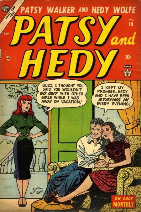 Patsy and Hedy 19 Cover Image