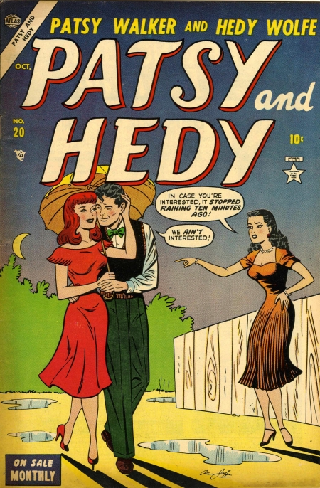 Patsy and Hedy 20 Cover Image