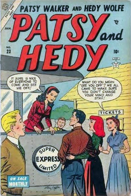 Patsy and Hedy 23 Cover Image