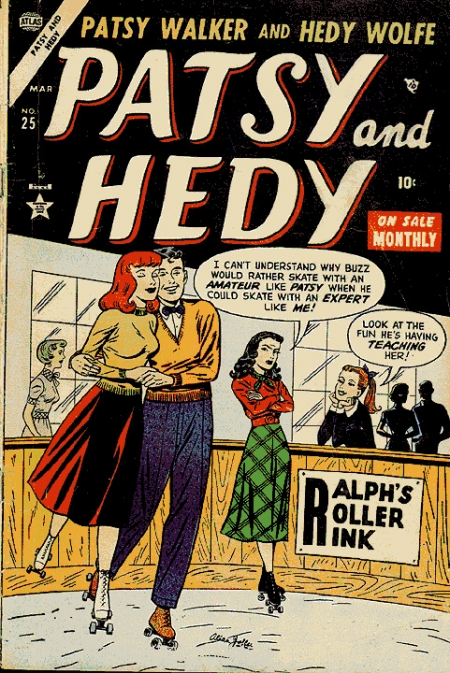 Patsy and Hedy 25 Cover Image