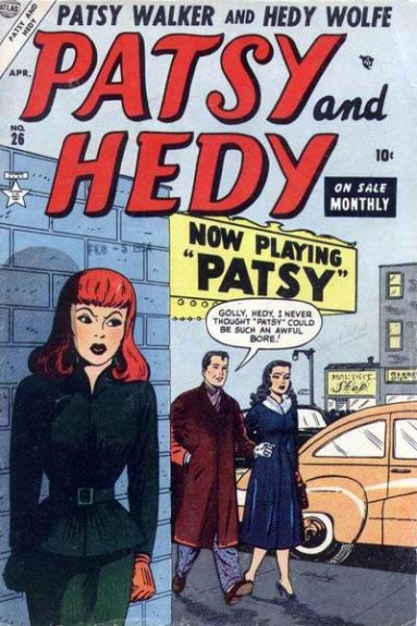 Patsy and Hedy 26 Cover Image