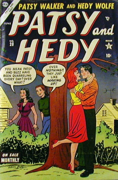 Patsy and Hedy 28 Cover Image