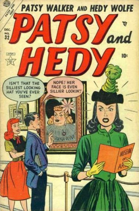 Patsy and Hedy 32 Cover Image