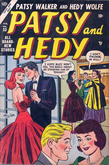 Patsy and Hedy 33 Cover Image