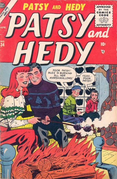 Patsy and Hedy 34 Cover Image
