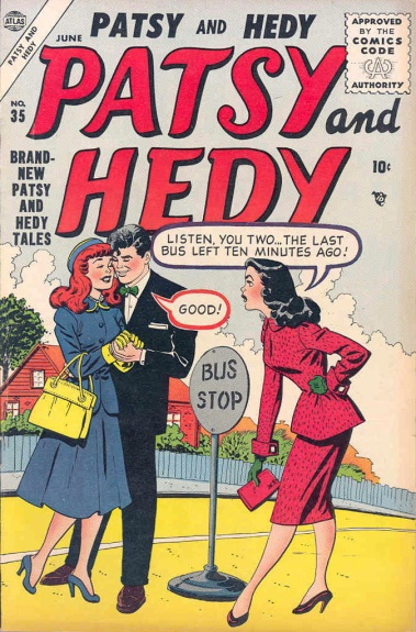 Patsy and Hedy 35 Cover Image