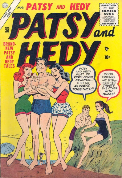 Patsy and Hedy 36 Cover Image