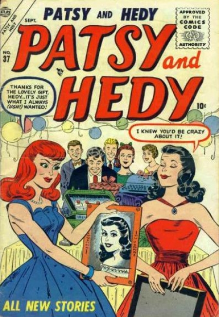 Patsy and Hedy 37 Cover Image