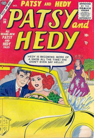 Patsy and Hedy 38 Cover Image