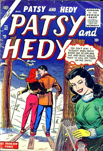 Patsy and Hedy 42 Cover Image