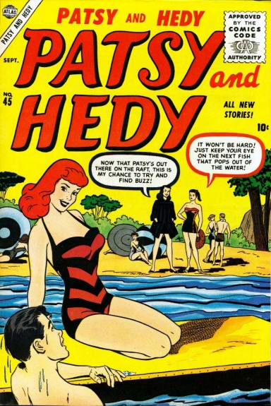 Patsy and Hedy 45 Cover Image