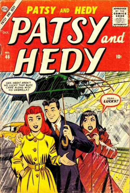 Patsy and Hedy 46 Cover Image
