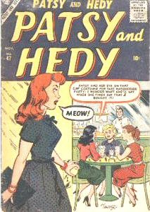 Patsy and Hedy 47 Cover Image