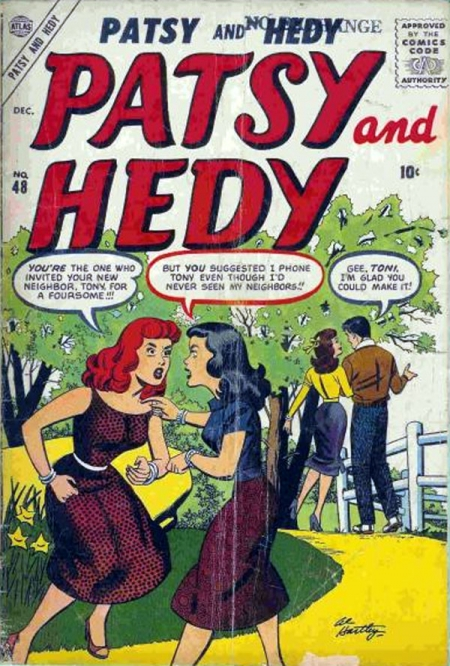 Patsy and Hedy 48 Cover Image