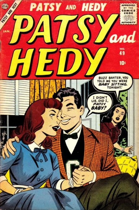 Patsy and Hedy 49 Cover Image