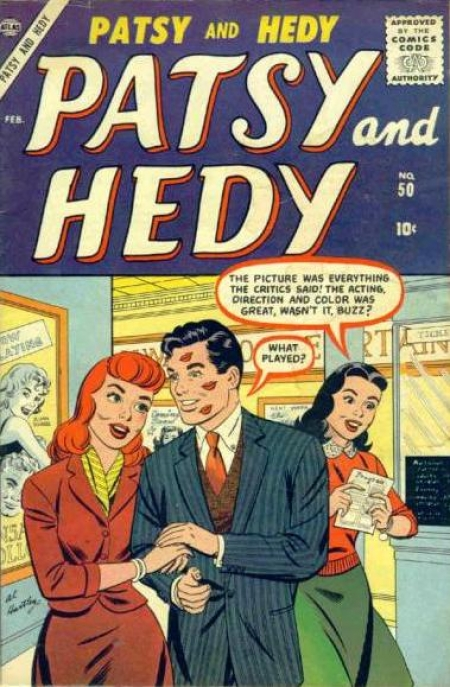 Patsy and Hedy 50 Cover Image