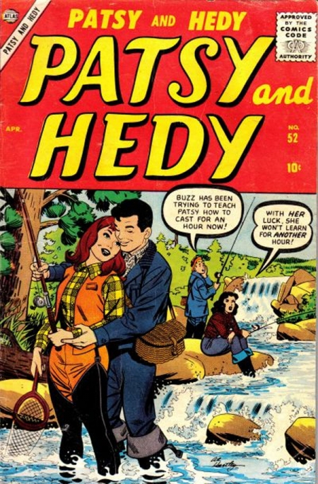 Patsy and Hedy 52 Cover Image