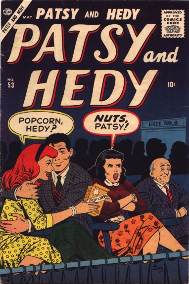 Patsy and Hedy 53 Cover Image