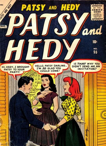 Patsy and Hedy 55 Cover Image