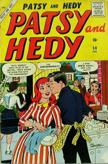Patsy and Hedy 56 Cover Image