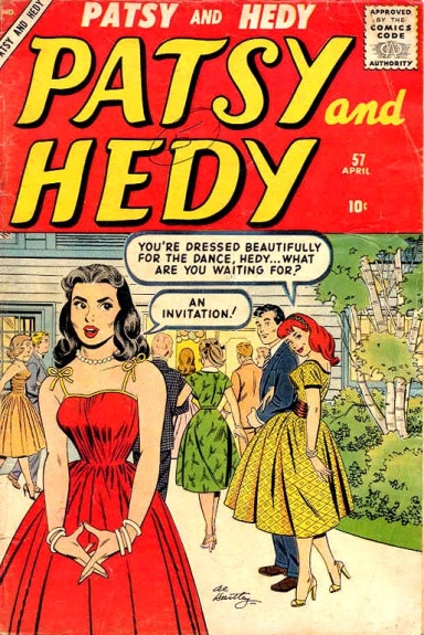 Patsy and Hedy 57 Cover Image